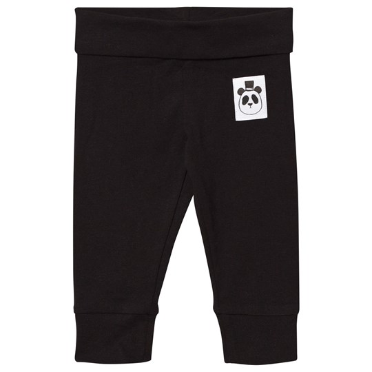 Mini Rodini Basic Newborn Leggings Black Black
