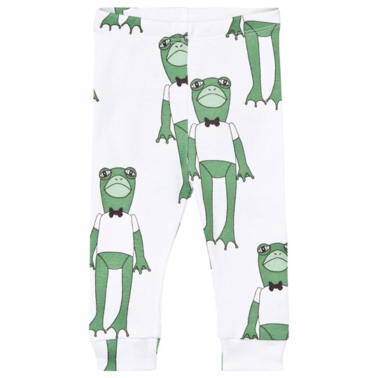 Mini Rodini Frogs Leggings Green Green