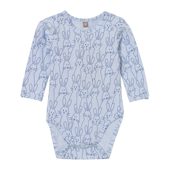 Hust&Claire Baby Body With Bunnies Light Blue Light Blue