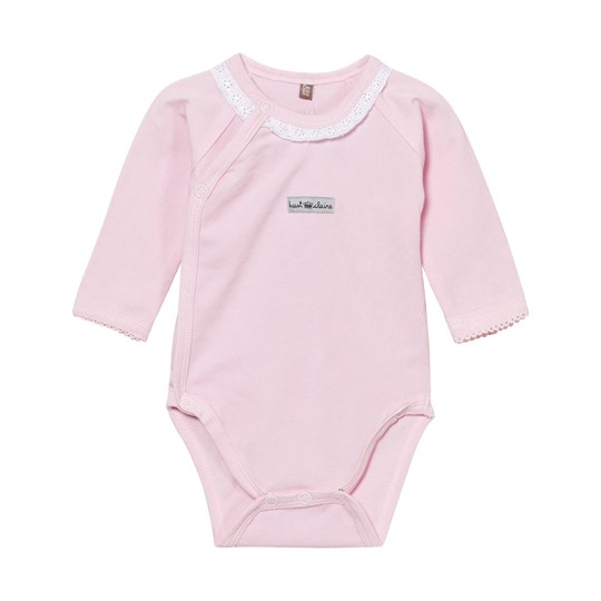 Hust&Claire Wrap Baby Body With Lace Soft Rose Soft Rose