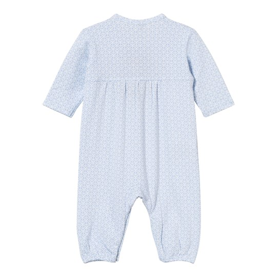Hust&Claire Jersey Jumpsuit With Print Light blue Light Blue