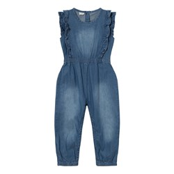 Hust&Claire Denim Jumpsuit Washed Denim