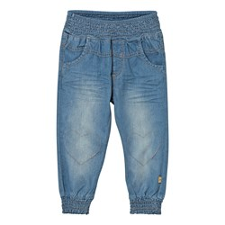 Hust&Claire Baggy Denim Trousers Washed denim
