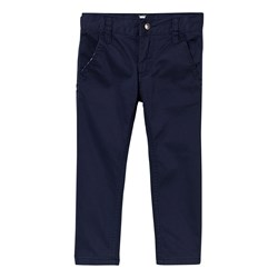 Hust&Claire Twill Trousers Night Blue