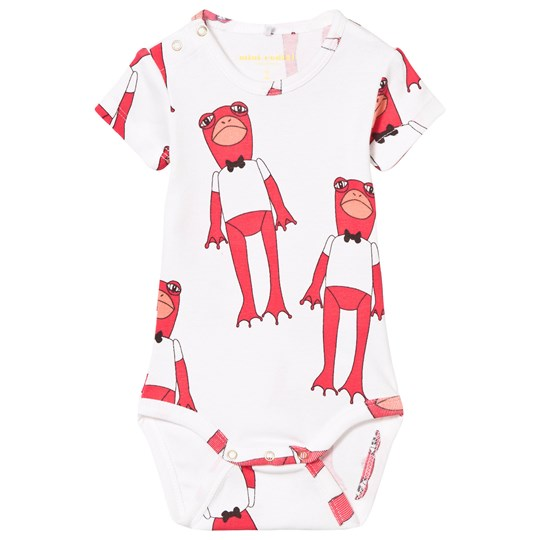 Mini Rodini Frogs Baby Body Cerise Cerise