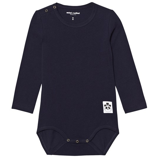 Mini Rodini Basic Baby Body Navy Navy