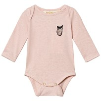 Soft Gallery Bob Baby Body Pale Melange Pale Melange, Owl patch Rose