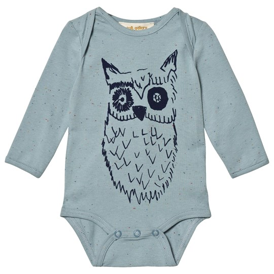 Soft Gallery Bob Baby Body Arona Arona, Big Owl Blue