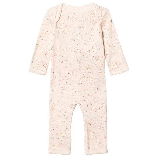 Soft Gallery Ben One-Piece Pearled Ivory Pearled ivory, AOP Mint dust
