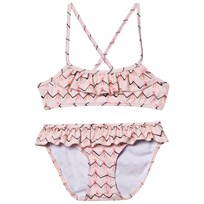 Soft Gallery Jewel Bikini Scallop Shell Scallop Shell, AOP Volcano