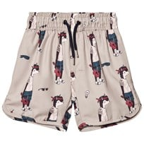 Soft Gallery Oliver Bad Shorts Oxford Tan Oxford Tan, AOP Dude