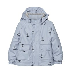 Mini A Ture Julien Print Raincoat Ashley Blue