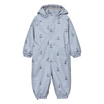 Mini A Ture Reinis Rainsuit Ashley Blue Ashley Blue