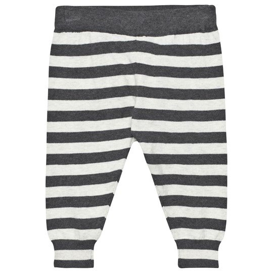 The Bonnie Mob Lightweight Knitted Trouser Monochrome Stripe Monochrome Stripe