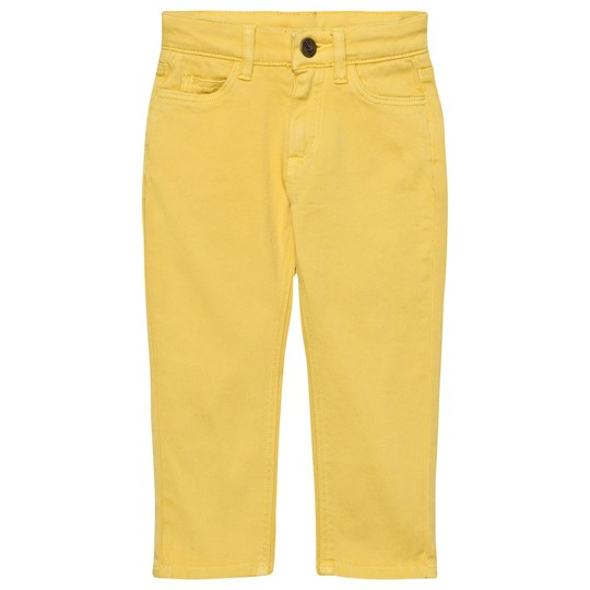 The Bonnie Mob Regular Fit Stretch Cotton Twill Bonnie Mob Jean Yellow Yellow