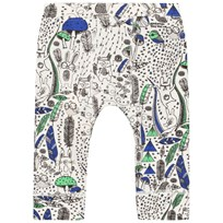 The Bonnie Mob Printed Legging Wilderness Blue Wilderness Blue