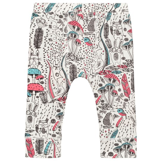 The Bonnie Mob Printed Legging Wilderness Pink Wilderness Pink