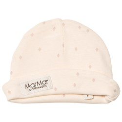 MarMar Copenhagen Aiko New Born Hat Faded Rose Rhombus