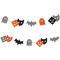 My Little Day Monster Garland Multi