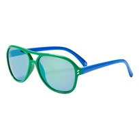 Stella McCartney Kids Kid Injection Solglasögon Grön/Blå GREEN-BLUE-GREEN (aviator)