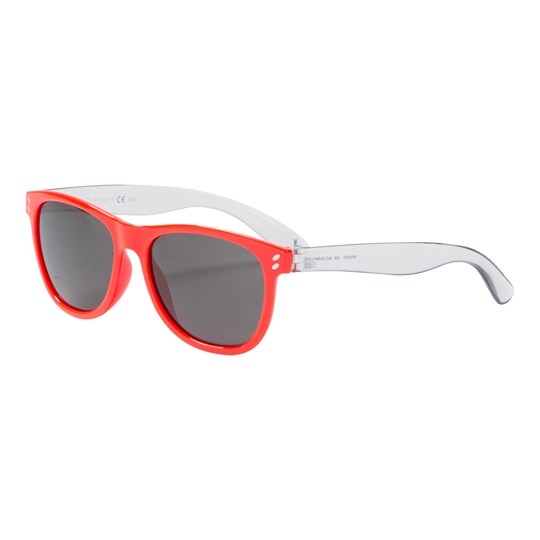 Stella McCartney Kids Sunglasses Kid Injection Orange/Grey/Smoke ORANGE-GREY-SMOKE (wayfarer)