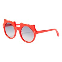 Stella McCartney Kids Kid Acetate Solglasögon Orange/Smoke ORANGE-ORANGE-SMOKE