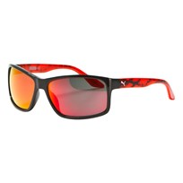Puma Kid Injection Sunglasses Black Red BLACK-RED-RED