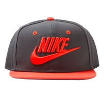 NIKE Grey Futura Cap ANTHRACITE/MAX ORANGE/BLACK/MAX ORANGE