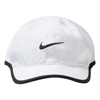 NIKE White and Black Cap WHITE/BLACK/BLACK