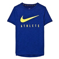 NIKE Blue Hyper GFX Dry Tee BINARY BLUE