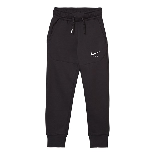 NIKE Black Air Joggers BLACK/BLACK/WHITE