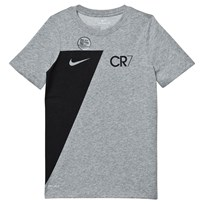 NIKE Grey CR7 Dry Tee DK GREY HEATHER