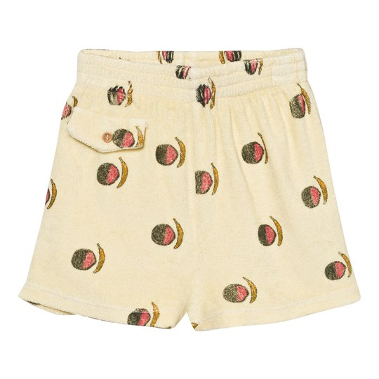 The Animals Observatory Poodle Bermuda Shorts Soft Yellow Fruit Soft Yellow Fruit