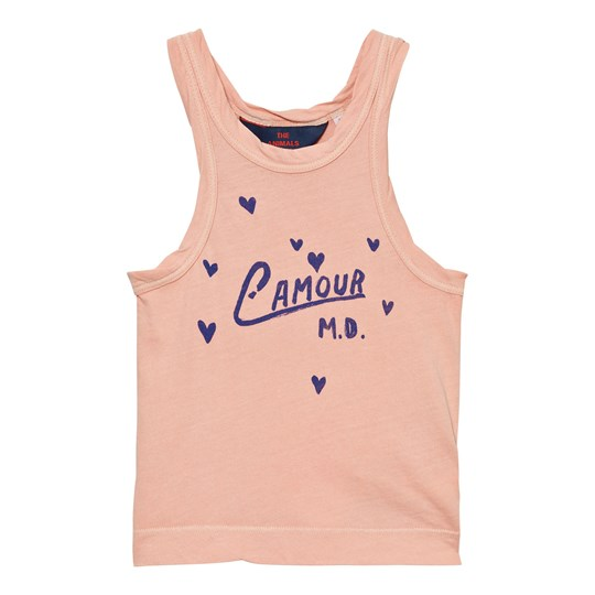 The Animals Observatory Frog Tank Top Pink L´Amour Pink L´Amour
