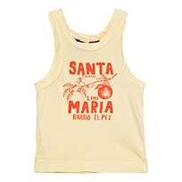 The Animals Observatory Frog Tank Top Soft Yellow Santa Maria Soft Yellow Santa Maria