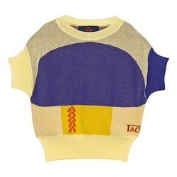 The Animals Observatory Bug Sweater Raw Yellow