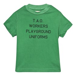 The Animals Observatory Rooster T-Shirt Green Uniforms