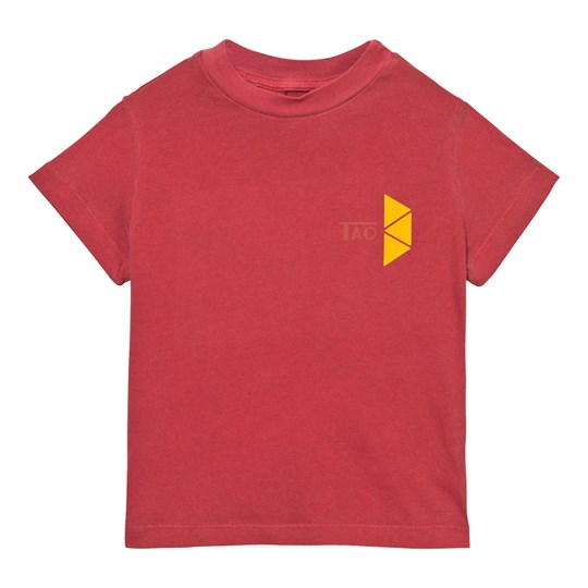 The Animals Observatory Rooster T-Shirt Maroon Tao Triangles Maroon Tao Triangles
