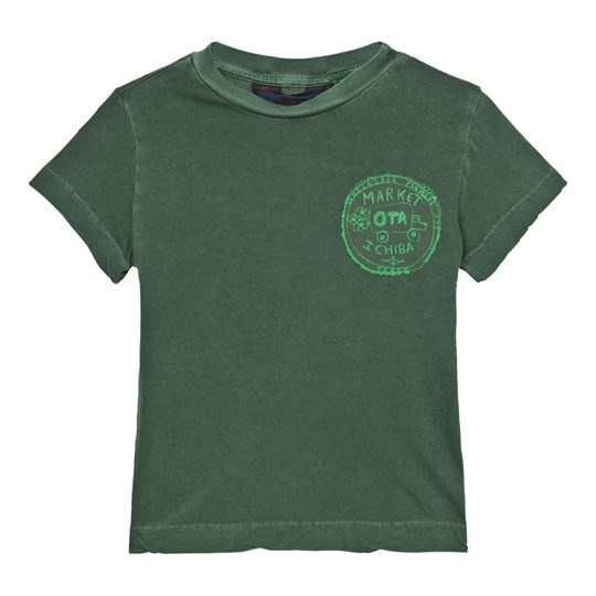 The Animals Observatory Rooster T-Shirt Military Green Market Military Green Market
