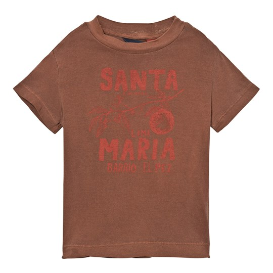 The Animals Observatory Rooster T-Shirt Brown Santa Maria Brown Santa Maria