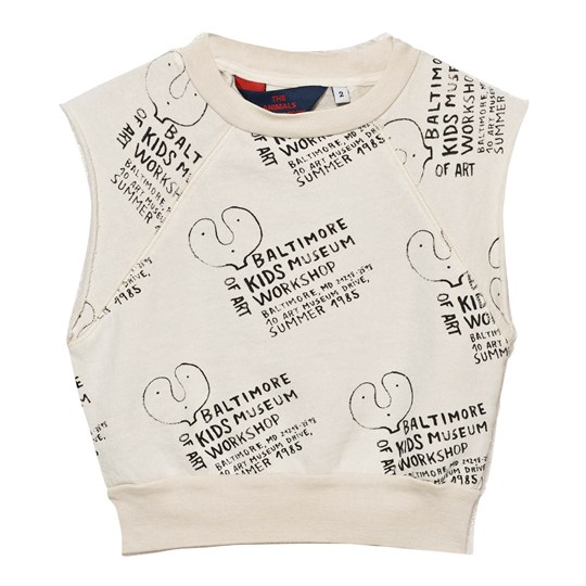 The Animals Observatory Hippos Vest Raw White Kids Museum Raw White Kids Museum