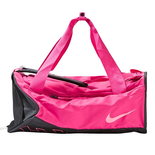 NIKE Kids' Alpha Adapt Crossbody Duffel Bag VIVID PINK/BLACK/DIGITAL PINK