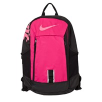 NIKE Kids' Alpha Adapt Rise Solid Backpack VIVID PINK/BLACK/DIGITAL PINK