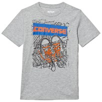 Converse Grey Map Graphic Tee 042