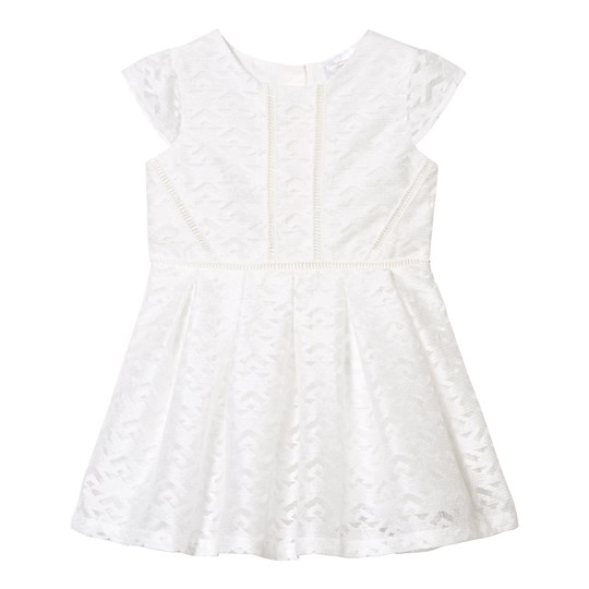 Kardashian Kids White Lace Dress White