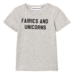Gardner and the gang The Cool Tee Fairies And Unicorns Heather Grey