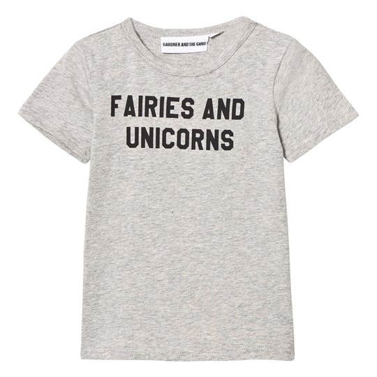 Gardner and the gang The Cool T-shirt Fairies And Unicorns Heather Grey Heather Grey