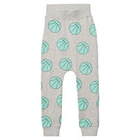 Gardner and the gang Slouchy Mjukisbyxor Basketball Heather Grey Heather
