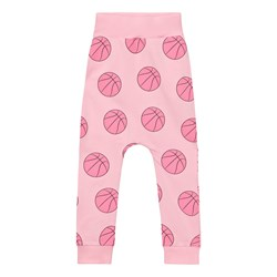 Gardner and the gang Slouchy Pants Basketball Candy Pink
