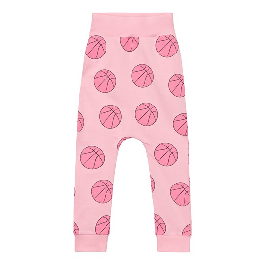 Gardner and the gang Slouchy Mjukisbyxor Basketball Candy Pink Candy Pink